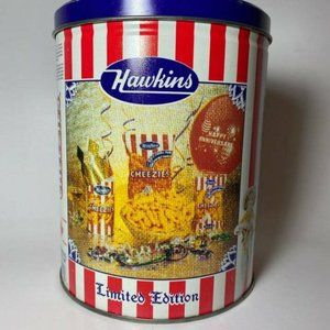 Hawkins Cheezies Always on Top Limited Edition Vintage Empty Tin